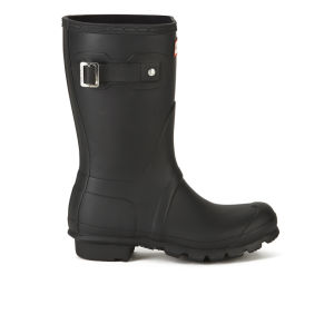 Hunter Unisex Original Short Wellies - Black