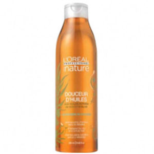 L'Oreal Professionnel Serie Nature Douceur D'Huiles Shampoo For Rebellious, Unruly Hair (250ml)