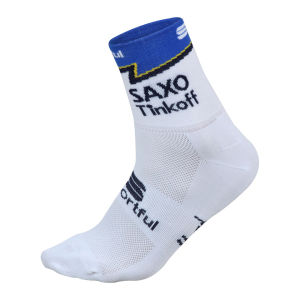 Saxo Bank Tinkoff Bank Team Race Socks - 2013
