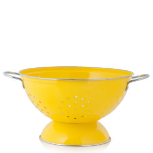 Cook In Colour Large Colander - Yellow