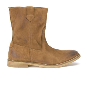 H Shoes by Hudson Women's Hanwell Suede Slouch Boots - Tan