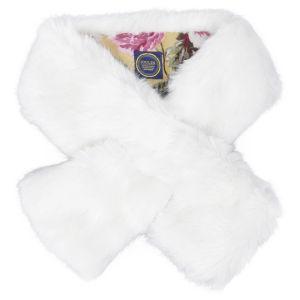 Joules Penton Scarf - Snow Rabbit