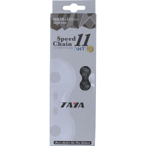Taya Onze 115UL 116L 11 Speed Bicycle Chain - Alloy Grey