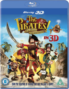 The Pirates! In an Adventure with Scientists 3D (Bevat UltraViolet Copy)