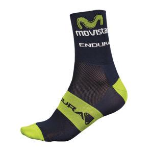 Movistar Team Replica Socks - Blue 2014