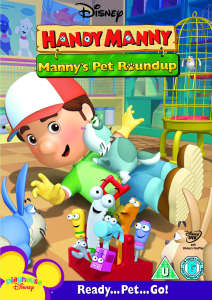 handy manny mannys pet round up dvd zavvi. Black Bedroom Furniture Sets. Home Design Ideas