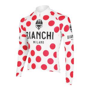 Bianchi Leggenda Celebrative Long Sleeve Jersey - Polka Dot