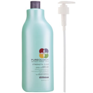 Pureology Strength Cure Conditioner (1000 ml) med pump