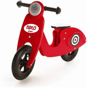 Tidlo Red Scooter
