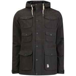 Crosshatch Men's Landcost Jacket - Black