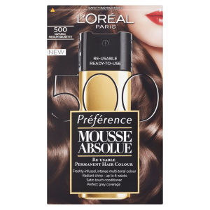 L'Oreal Paris Preference Mousse Absolue - 500 Natural Medium Brunette