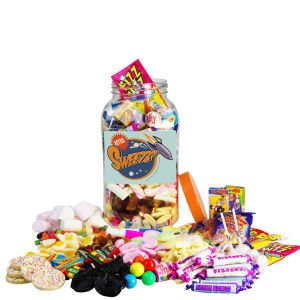 Retro Sweet Jar 'Congratulations' - Large