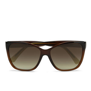 Vero Moda Women's Cat Eyes Sunglasses - Black Coffee