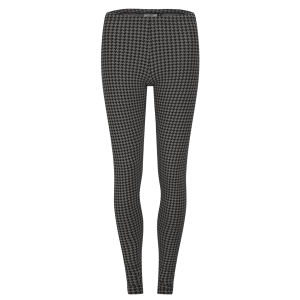Only Women's Luna Houndstooth Leggings - Plum Kitten