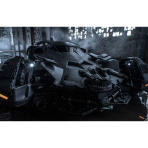 Hot Wheels Elite DC Comics Batman Vs. Superman Batmobile 1:18 Scale Model