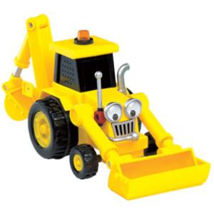 Bob The Builder: Scoop Shaped Case with 3 Vehicles