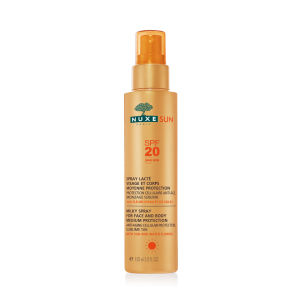 NUXE Sun Milky Spray Face and Body SPF 20 (150ml) - Exclusive