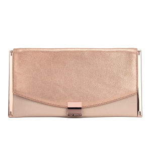Ted Baker Women's Allices Tube Feet Clutch Bag - Rose Gold