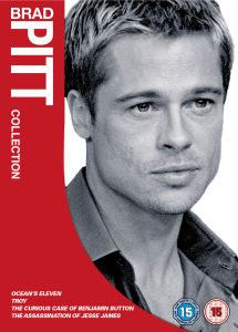 Brad Pitt Box Set (Oceans Eleven / Troy / Benjamin Button / Assassination of Jesse James)