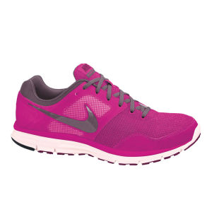 Nike Women's Lunarfly+4 Running Shoe - Pink Foil