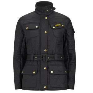 Barbour International Women's International Polarquilt Parka - Black