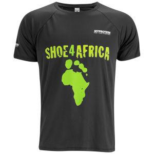 Мужская футболка Myprotein Shoe4africa - Черный цвет