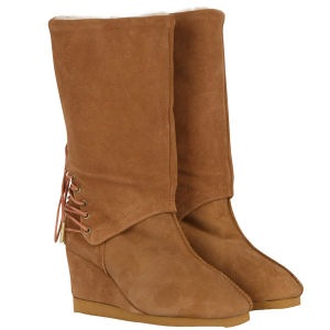 Love From Australia Women's Roxanne Wedge Boots - Caramel