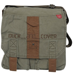 Duck and Cover Military Satchel
