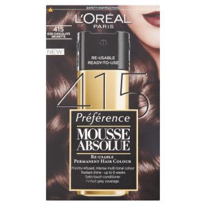 L'Oreal Paris Preference Mousse Absolue - 415 Iced Chocolate Brunette