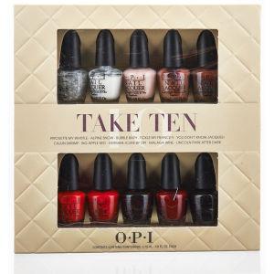 OPI Take Ten Mini Kit (10 Products)
