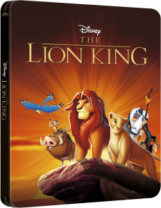 The Lion King 3D - Zavvi Exclusive Limited Edition Steelbook (Disney Collectie #26) (Inclusief 2D Versie)