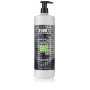 Fudge Cool Mint Purify Shampoo (1000 ml) - (Wert £ 33.00)