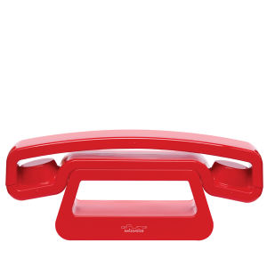 ePure DECT Cordless Phone by Swissvoice - Red