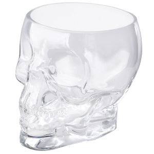 Jay Crystal Skull Glass Container