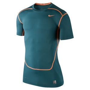 Nike Men's Core Compression Short Sleeve Top 2.0 - Green