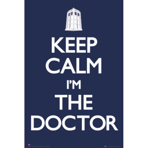 Doctor Who Keep Calm - Maxi Poster - 61 x 91.5cm