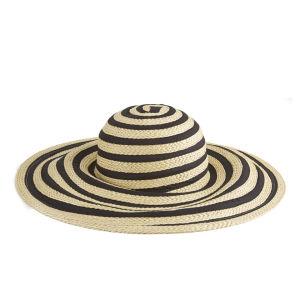 Paul Smith Accessories Women's Ribbon Sun Hat - Black