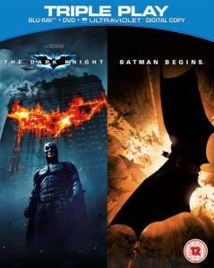 Batman Begins / The Dark Knight - Triple Play (Blu-Ray, DVD and UltraViolet Copy)