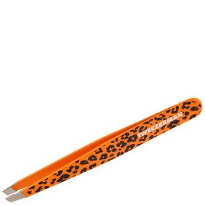 Tweezerman Slant Tweezer - Orange Cheetah