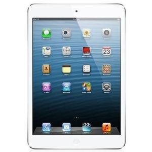 Apple iPad Mini: 64GB Wifi - White and Silver