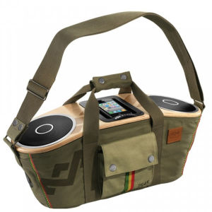 The House of Marley Bag of Rhythm Portable Audio System