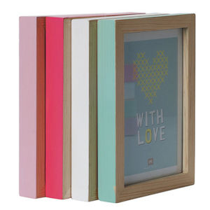 Small Hand Painted Photo Frame Pack - Pastels