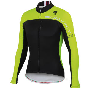Sportful Bodyfit Pro Thermal Jersey - Black/Yellow