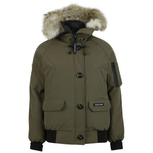 Canada Goose Women's Chilliwack Bomber Jacket - Military Green