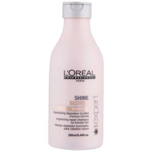 L'Oréal Professionnel Série ExpertShineBlonde Shampoing réparateur lumière cheveux blonds(250 ml)