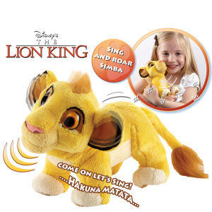 Anipets Lion King 7 Inch Sing and Roar Simba