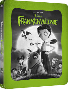 Frankenweenie 3D (enthält 2D Version) - Zavvi exklusives (UK Edition) Limited Edition Steelbook