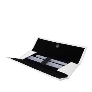 Leighton Denny Crystal Nail File Set In Wallet