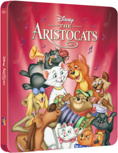 The Aristocats - Zavvi Exclusive Limited Edition Steelbook (The Disney Collection #21)
