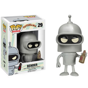 Futurama Bender Pop! Vinyl Figur